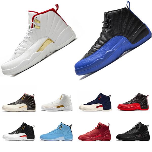 Michigan 12 12s tênis de basquete Cement 10s noite de baile Concord 11s Cap and Gown 13s Classe de 2002 Mens Sports Sneakers 36-47