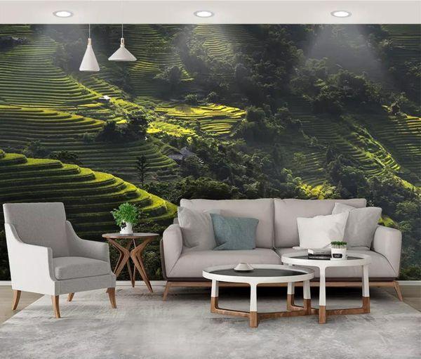 Großhandel Individuelle Tapete Für Moderne Wand Natürliche  Landschaftstapete Für Wohnzimmer Schlafzimmer Tapete An Der Wand Groß Von  Yedandan, $27.14 ...