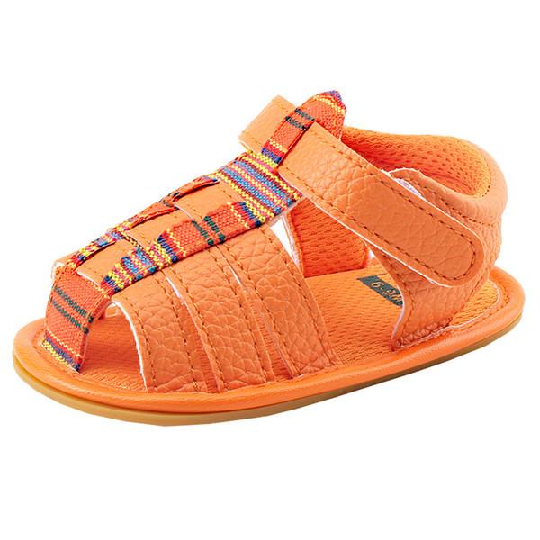 Newborn Baby Shoes Girls Boys Roman Sandals First Walkers Soft Sole Shoes Sandalias De Verano Para Mujer