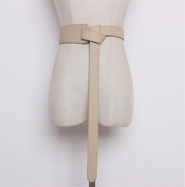 Color:khaki&Belt Length:119cm
