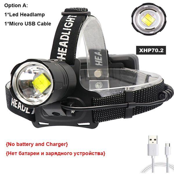 Single Headlamp Option A- Zoomable