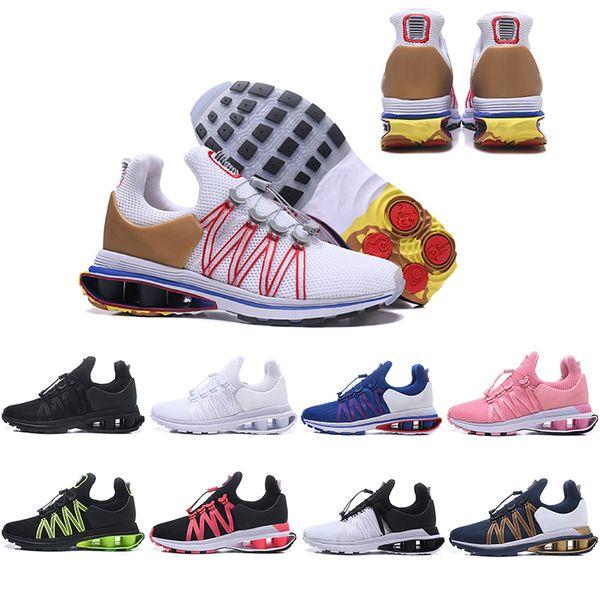 Ücretsiz Kargo Shox Yerçekimi Erkekler Kadınlar Için 908 Koşu Ayakkabıları Chaussures üçlü s 809 Spor Sneakers Erkek Eğitmenler Tasarımcılar Ayakkabı ABD 5.5-12