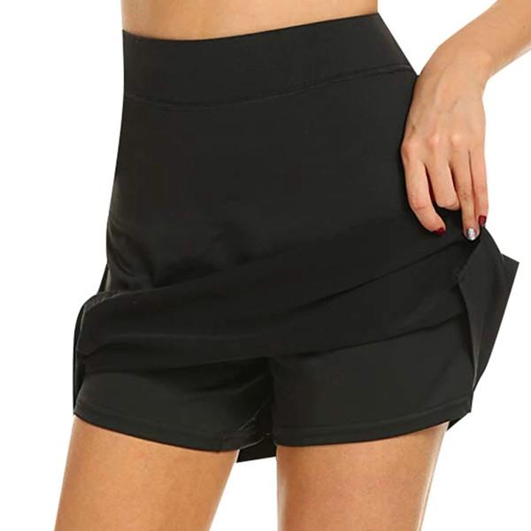 Gonna da prestazione attiva da donna estiva Running Tennis Golf Allenamento Sport Vendita calda Moda Gonne con biancheria intima per donna