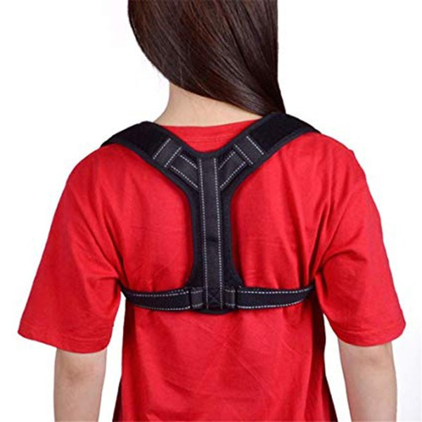 Posture Corrector Support for Men and Women Comfortable Upper Back Brace Clavicle Device for Thoracic Kyphosis and Shoulder Neck Pain Relief