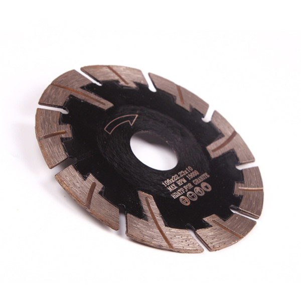 5 PCS D105mm Protective Teeth Diamond Saw Blades 5 Inch Hot Press Sintered Continuous Rim Turbo Cutting Disc for Granite
