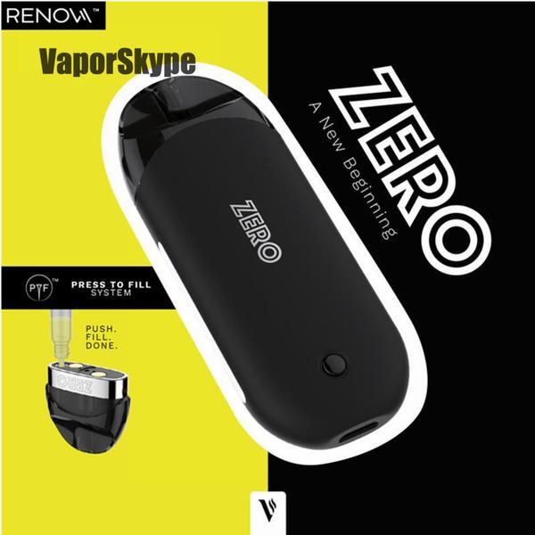 Vaporesso Zero Pod Starter Kits 2ml Nachfüllbarer Pod Tank Eingebauter 650mAh Maximaler 12.5W Output Akku E-Zigaretten Kits Vape Pen