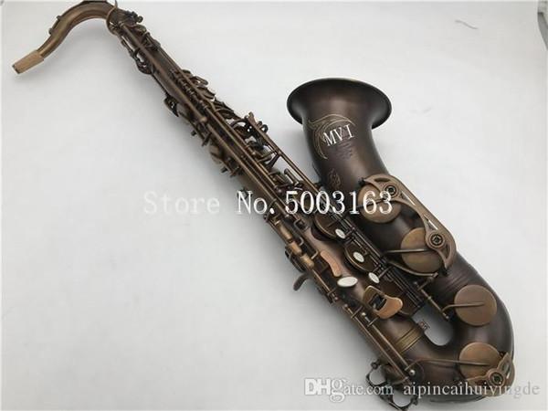 Nuovo arrivo mk vi sassofono tenore sb sassofono in ottone tubo b-flat unico sax retrò strumento musicale con custodia spedizione gratuita