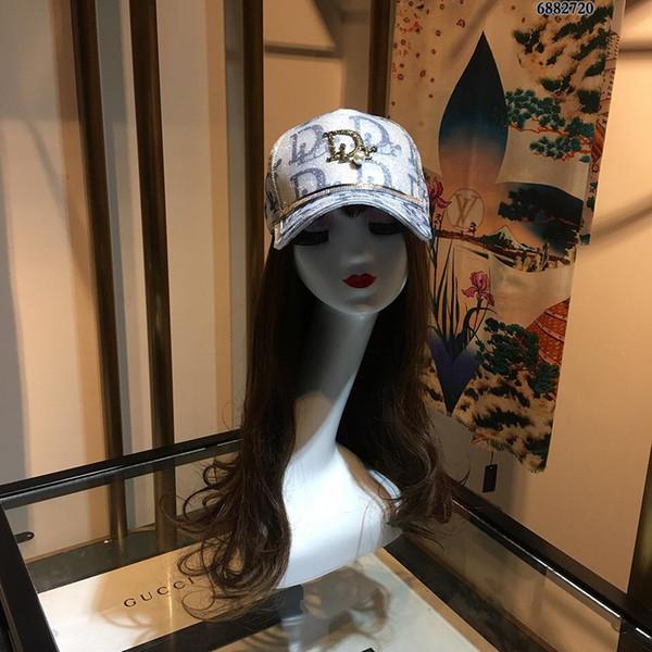 iduzi ricamo Berretti da baseball di lusso Unisex Baseball Cappelli per uomo donna casquette cotone Snapback osso Fashion Sport Cap
