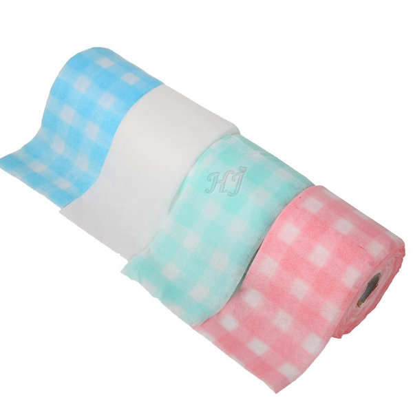 New 18 Meter/Roll Beauty Towel Perfect For Nail Art Cleansing Cosmetic Manicure disposable Cotton Paper Towel Roll Tool Cloth