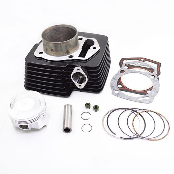 top popular Motorcycle Cylinder Kit for 169FMM CB250 CB 250 250cc Off Road Dirt Bike KAYO CQR Engine Spare Parts 2021
