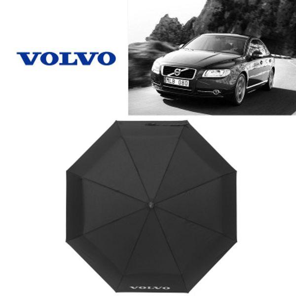 Volvo Car Sun Umbrella Protection solaire extérieure Triple parapluie Fashion Golf Designer Umbrella Vente Chaude