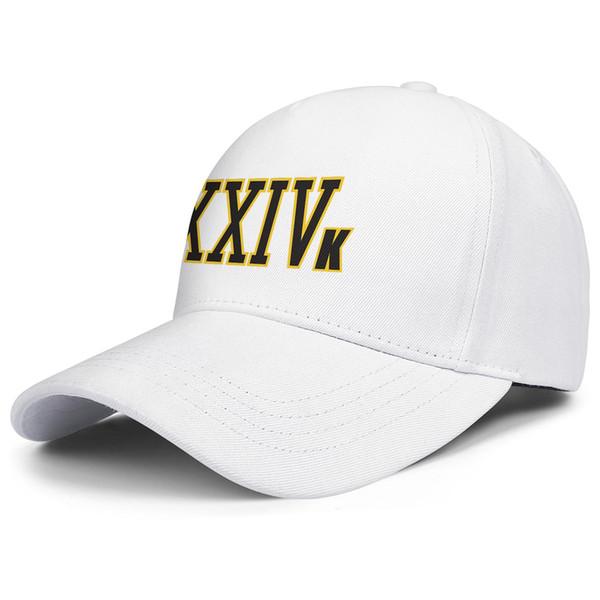 BRUNO MARS XXIV K 24 Karat white for men and women trucker cap ball cool designer running hats