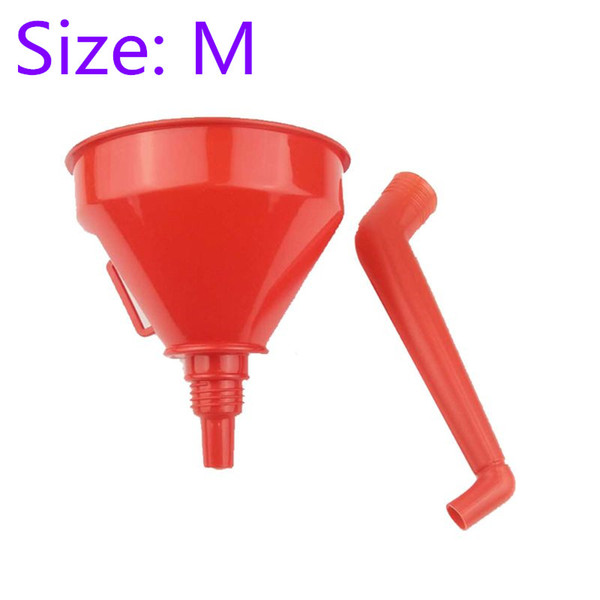 Plastic Funnel with Soft Pipe,Universal Vehicle Plastic Filling Funnel with Soft Pipe Spout Pour Oil Tool Petrol Diesel