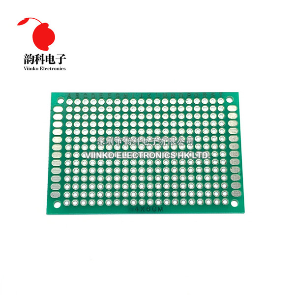 Wholesale prototype pcb circuit boards for sale - Group buy Cheap Integrated Circuits PC X7 X8cm Double Side Prototype Diy Universal Printed Circuit PCB Board Protoboard