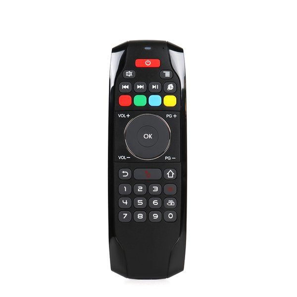 new arrival G7 2.4GHz Fly Air Mouse Remote Control RF Mini Keyboard with IR rechargeable battery inside