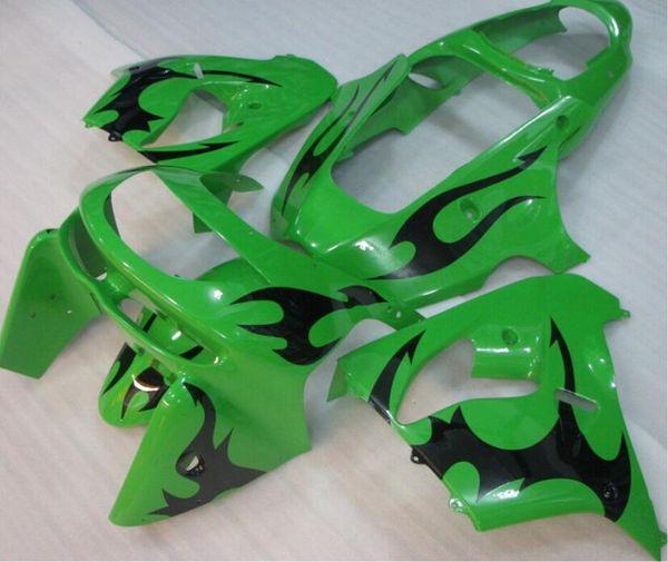 New ABS bike fairings kit for Ninja Kawasaki ZX9R 1998 1999 fairing motorcycle parts ZX-9R 98 ZX 9R 99 Custom cool green black