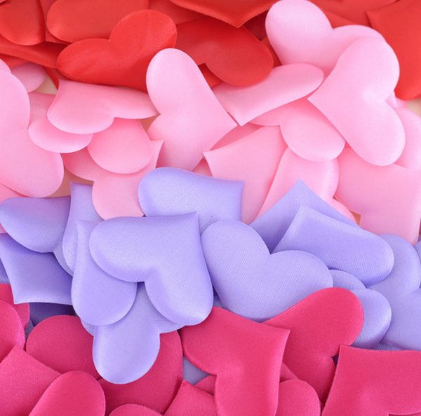 2019 Romantic Sponge Heart Shaped Throwing Confetti For Wedding Bed Heart Petals Valentine Wedding Decoration Party Supplies