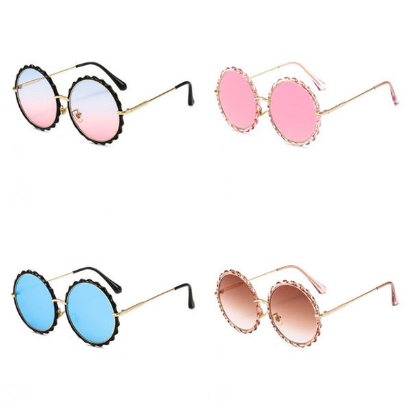 831f4cfbce56 flower eyeglass frames Coupons - Flower Shape Gradient Fashion Eyeglass  Color Film Tide Marine Lens Sunglasses