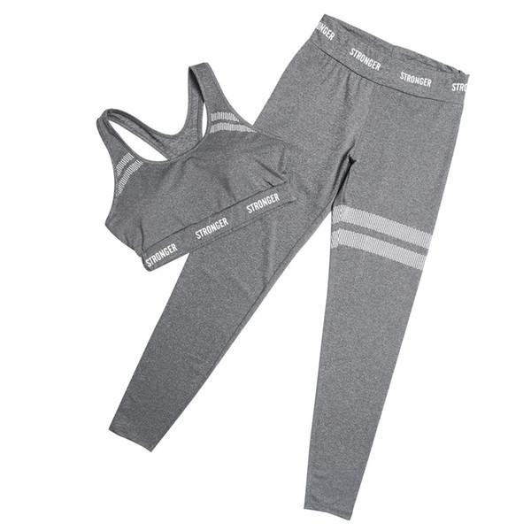 2Pcs Fitness Yoga Set Seamless Leggings + Bra Sports Wear for Women Gym Suit Clothing Yoga Leggings Set Running Sportswear Women