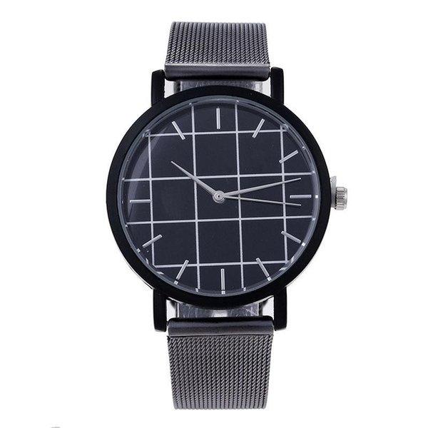 Moda para hombres y mujeres Larsson Jennings Vestido de cuarzo Reloj de cuero Correa de acero inoxidable Relojes deportivos de alta calidad 8 8mk