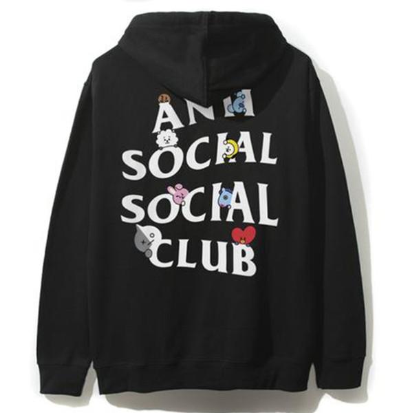 Yeni erkek tasarımcı hoodies kurşun geçirmez çocuk eş markalı kazak gevşek öğrenci gelgit marka kapüşonlu hoodie gömlek ceket erkekler ve kadınlar