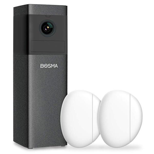 보쉬 X1 실내 보안 카메라 사이렌 경보 1080P HD IP 감시 시스템 컬러 야간 투시경 PIR / 모션 / 사운드 감지
