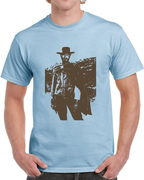 Good Bad Ugly Blondie Cool Clint Eastwood Western Movie Fan T ShirtFunny free shipping Unisex Casual top