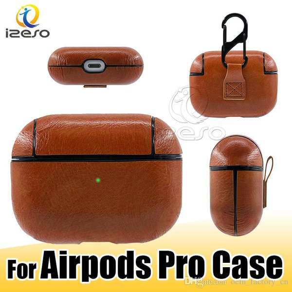 2019 For Airpods Pro Leather Protective Case New Luxury