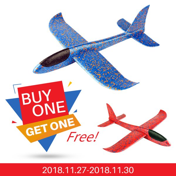 EPP Foam Hand Throw Flying Airplane Outdoor Launch Glider Plane Kids Gift Toy DIY Toys for Children educational gift