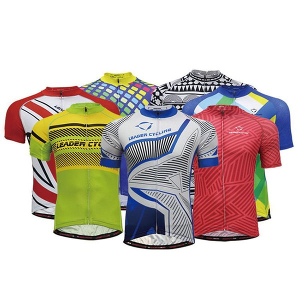 Camisetas de ciclismo Jersey Unisex Hombres Mujeres Mountain Bike Ciclismo Tops Transpirable de secado rápido uniforme de la motocicleta a campo través