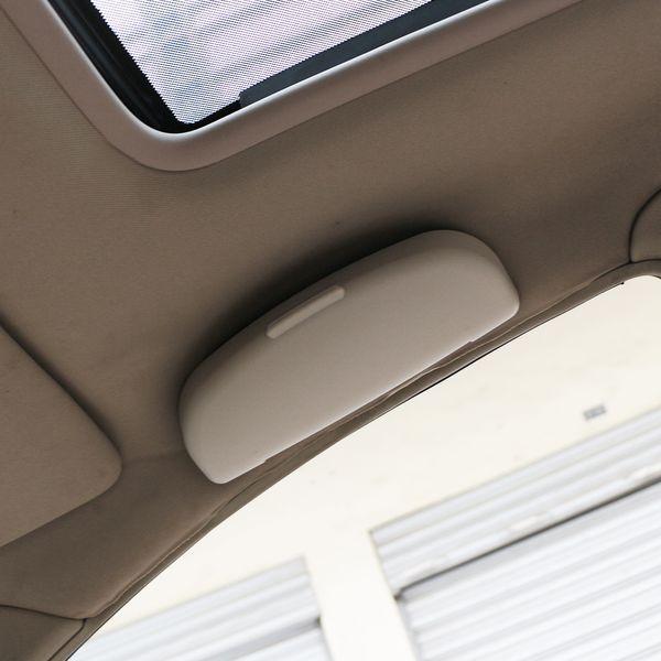 New Beige Car Glasses Storage Case Box For Mitsubishi Outlander ASX RVR