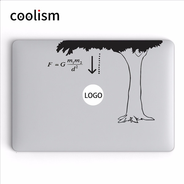 Newton The Law Of Gravity Humor Laptop Decal For Apple Macbook Air 13 Sticker Pro Retina 11 12 15 Inch Mac Hp Dell Mi Book Skin T6190615