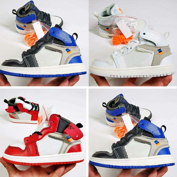 Citygear Wholesale Children Shoes J 1 1s Cheap Store Top Quality Kids Basketball Shoes Price Free Shipping Sales 28-35