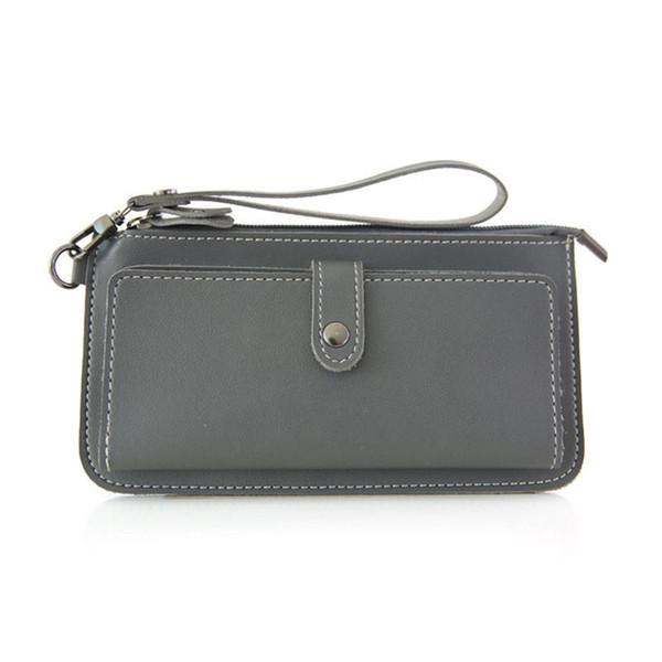 good quality Women Long Zipper Hasp Multi-card Clutch Wallet Large Capacity Wallets Female Purse Lady Purses Phone Pocket Card Holder
