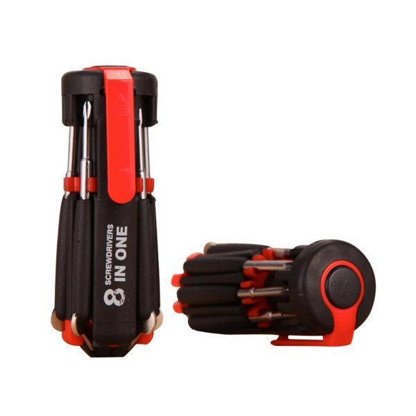 Multi-function screwdrivers flashlights LED strong light flashlight tool flashlight Hand Tools tool fashion outdoor flashlight Garde T2I5160
