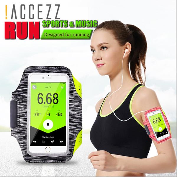 Ginásio à prova d 'água esportes correndo braçadeira para iphone huawei samsung xiaomi telefone para o tamanho 4-6 polegada arm band telefone saco case