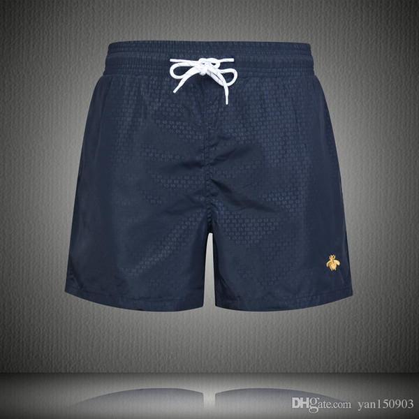 Shorts do esporte de verão para os homens soltos, de secagem rápida, tamanho ameixa, calças de praia de cinco centavos verão magro, respirável