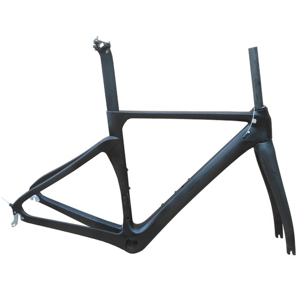 NO logo carbon fiber road frame Di2&Mechanical racing bike carbon road frame+fork+seatpost+headset bike matt/glossy