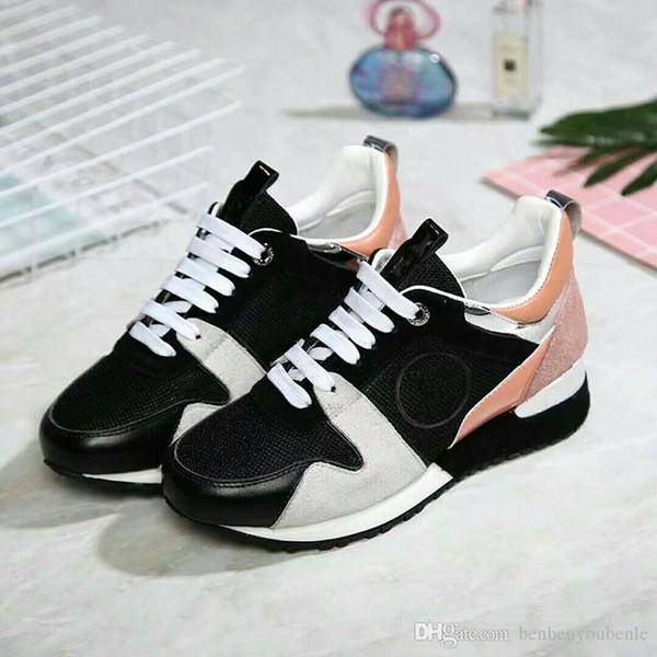 Бренд 2018 новые мужские роскошный манеж, мятые кожаные кроссовки низкий топ обувь плюс размер 35-41 мужские туфли 1156661
