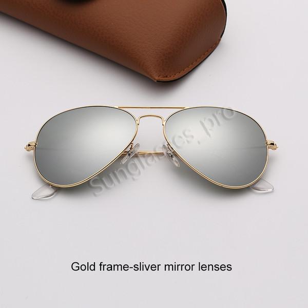 Altın çerçeve-şerit ayna lensleri
