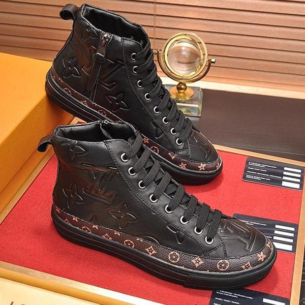 Stellar Sneaker Boot Men ' ;S Shoes Herren Luxus Marken Schuhe Comfortable Fashion Classic Shoes Sports Casual Plus Size Vintage Men Boo Deck Shoes