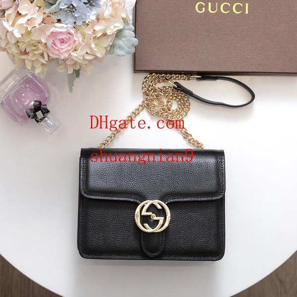 Famosi marchi 2019 moda donna tracolla Borsa piccola borsa a tracolla portafoglio Sac à main Bolsa Feminina catena messenger bag B-V11