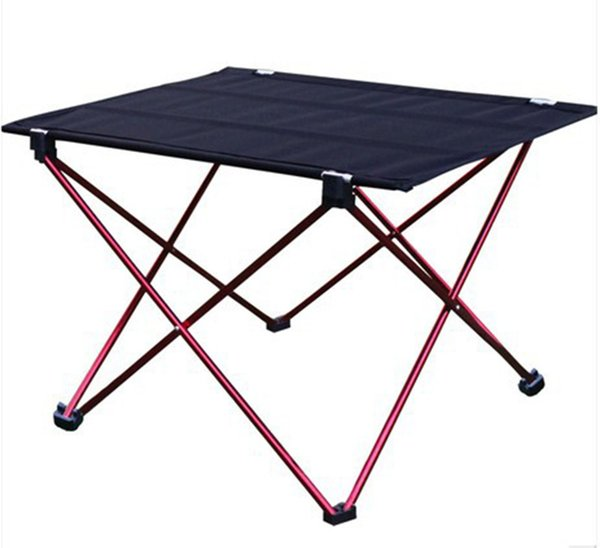 Fantastic Portable Foldable Table Camping Outdoor Furniture Computer Bed Tables Picnic 6061 Aluminium Alloy Ultra Light Folding Desk Portable Chairs Outdoor Bralicious Painted Fabric Chair Ideas Braliciousco