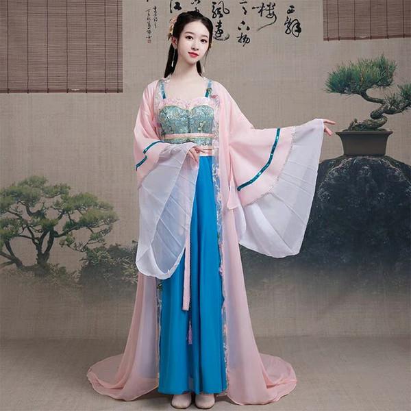 Chushan Ancient Womens Han Dress mit chinesischem Stil, brustlangen Rock und Ancient Court Princess und Fairy Dance Dance