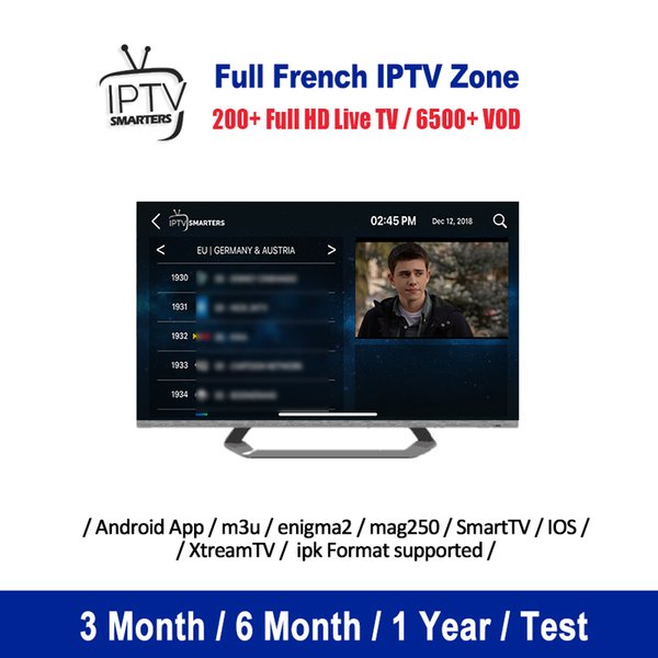 Miglior abbonamento France IPTV UK Italia per M3U Smart IPTV TV Android Enigma2 MAG Box Germania Spagna Scandinavia Abonnement Iptv