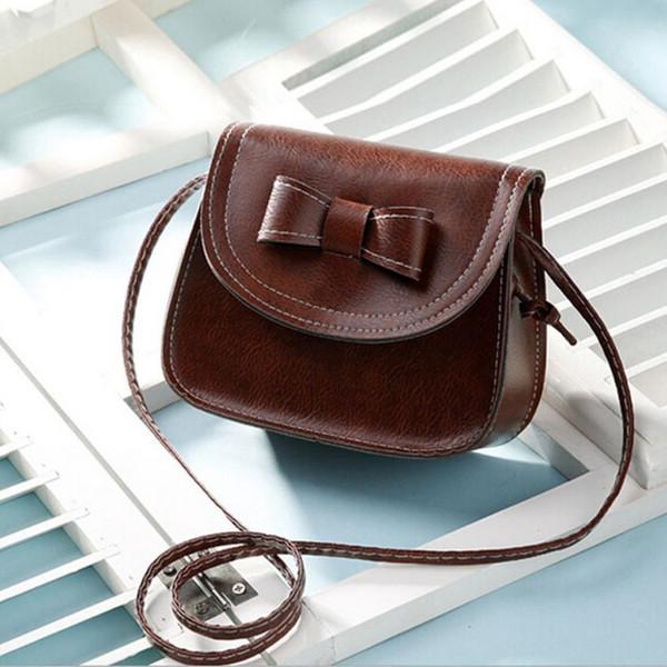 Cheap New Arrival Fashion Fashion Women Bowknot Leather Handbag Single Shoulder Messenger Phone Bag malas de mulher