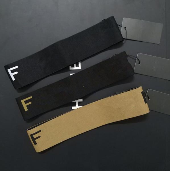 F Lettera Handband 3 Colori Yoga Sport Elastico Allenamento palestra Fascia per capelli Sport Fitness fasce OOA6898