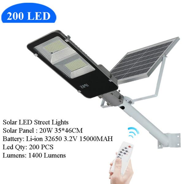200 شارع LED الشمسية