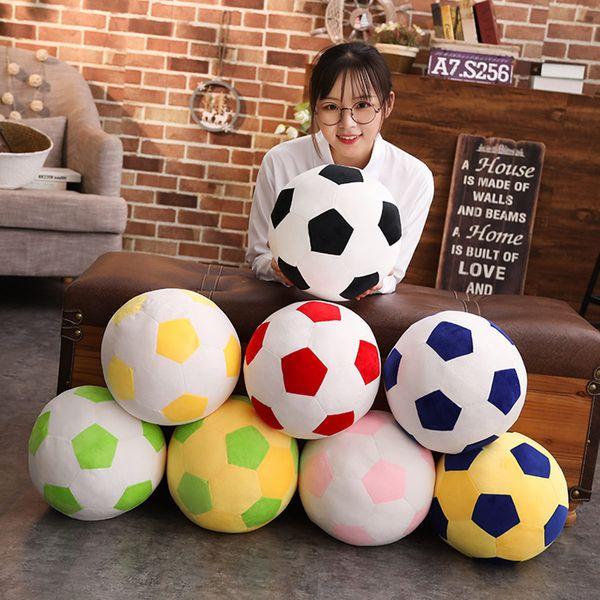 Grosshandel Fussball Kissen Angefulltes Flaumiges Plusch Baby Fussball Weiches Dauerhaftes Fussball Sport Spielzeug Geschenk Fur Kinder Von