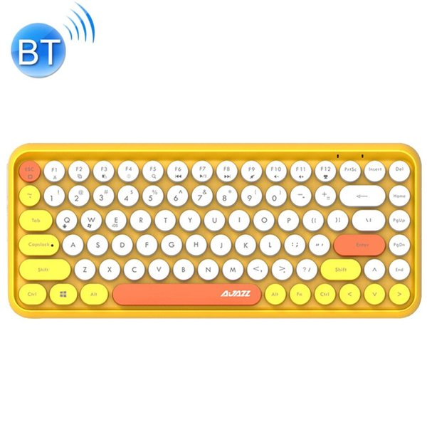Accessories for Computer 308I 84 Macaroon Keys Tablet Mobile Phone Computer Household Office Bluetooth Keyboard